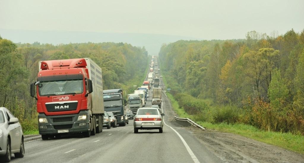 По данным РТИТС, самой загруженной федеральной трассой в России является М-5 «Урал» (фото: Wikimedia)