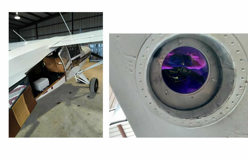 MAULE Airplane and ALMA G4 Optical Unit