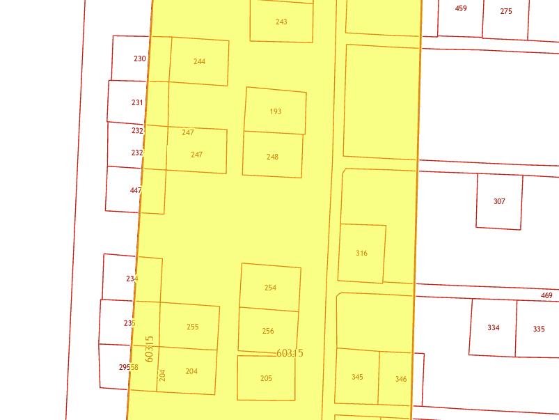 граница населенного пункта пересекает земельный участок
