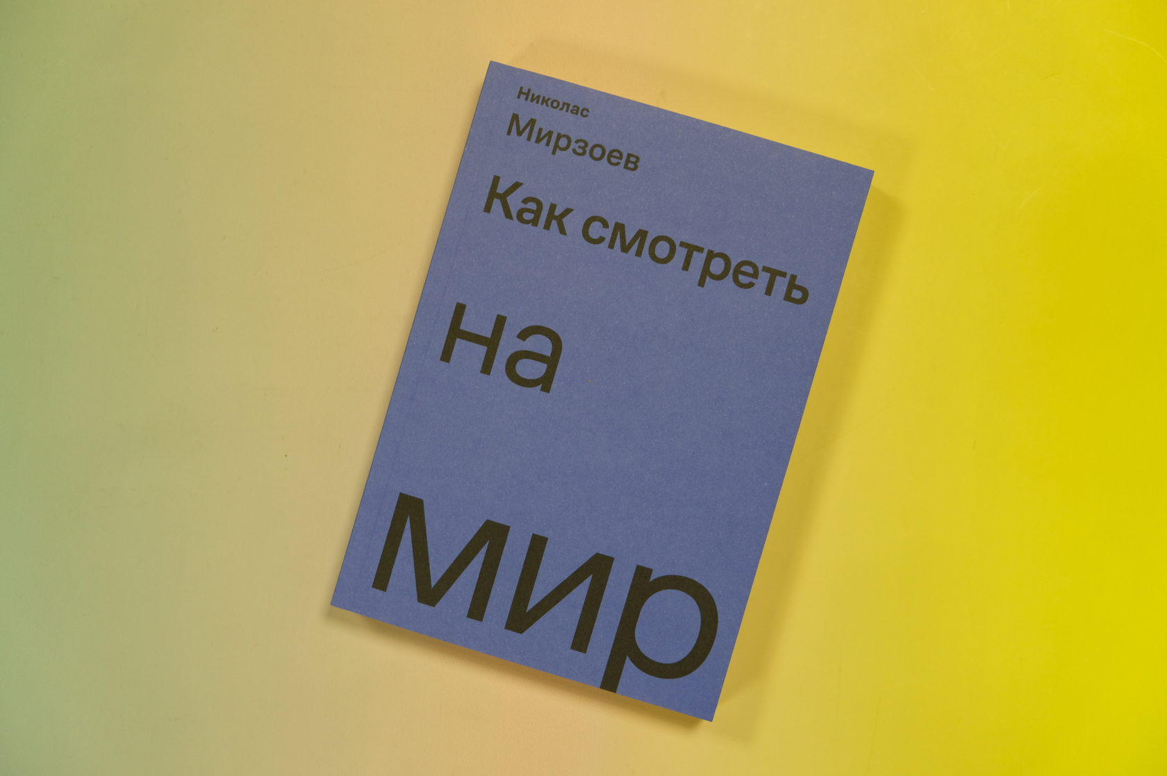 Николас Мирзоев «Как смотреть на мир» 978-5-91103-500-6 Ад Маргинем
