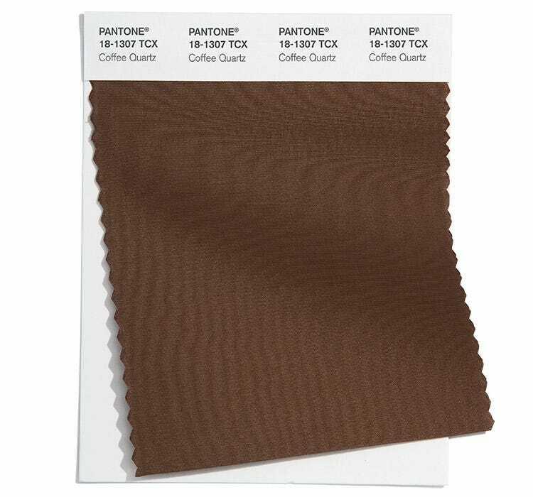 Coffee Quartz е красив кафяв нюанс, който ще е сред модерните цветове пролет/лято 2022
