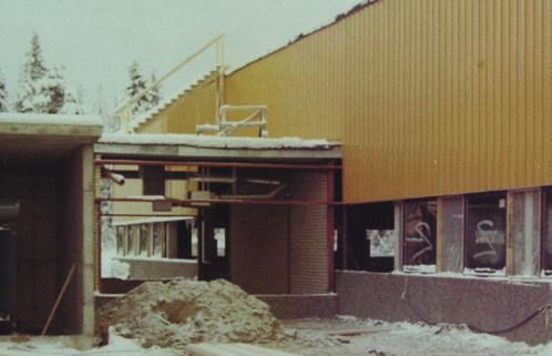 Будівництво нового заводу ELPRESS у 1975 році