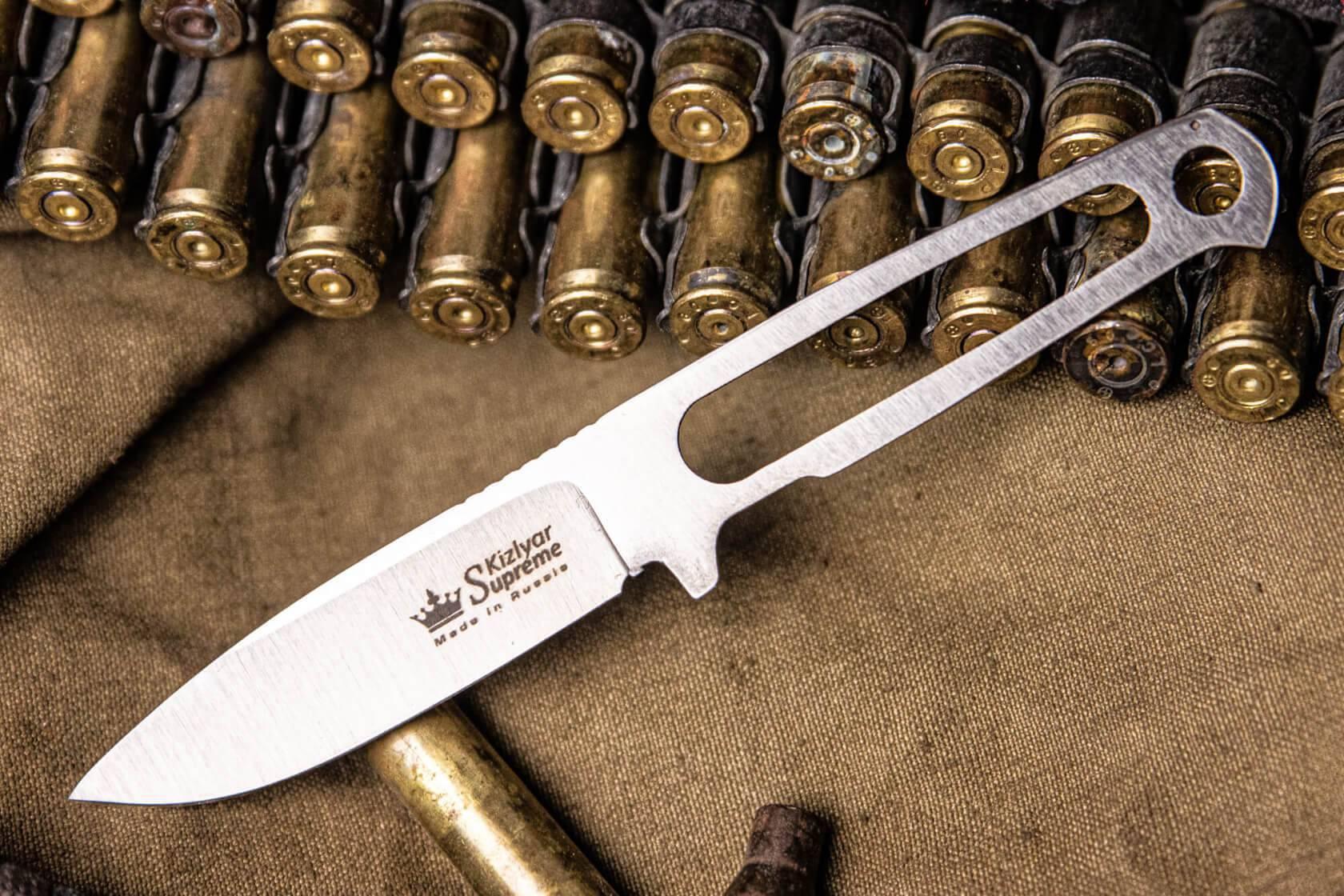 EDC/Шейный нож Kizlyar Supreme, небольшой нож для ношения на шее и в сумке, Кизляр Суприм, Sturm mini
