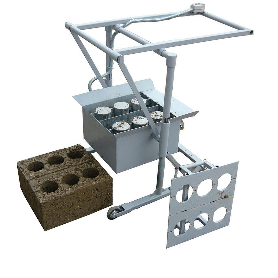 установка для производства блоков своими руками