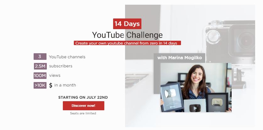 YouTube Challenge