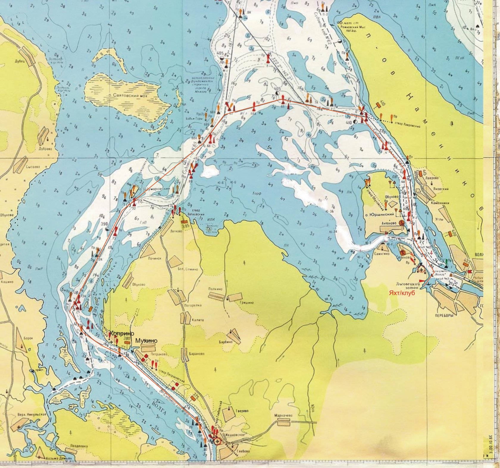 Рыбинское водохранилище рыболовные точки