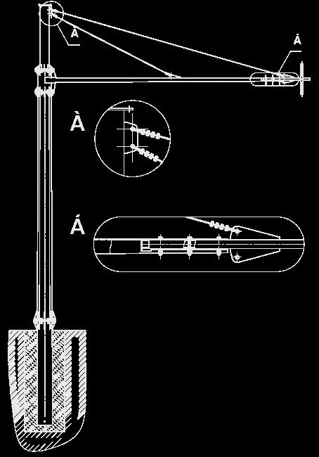 Г-образная опора типа КДЗ