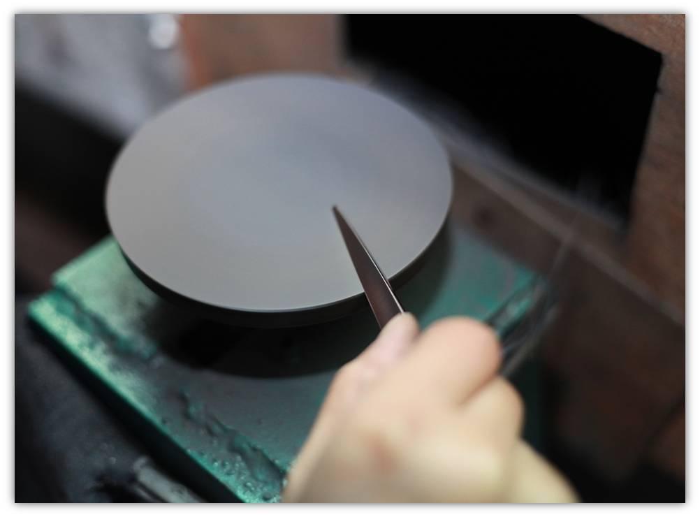 обработка режущей кромки ножниц profy_L