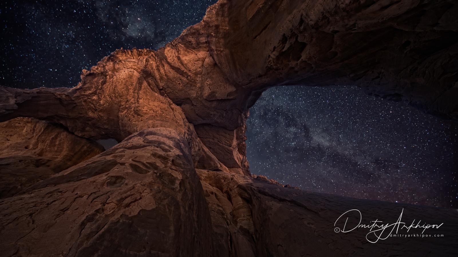 Sahara, Photo tours, Stars in the sky