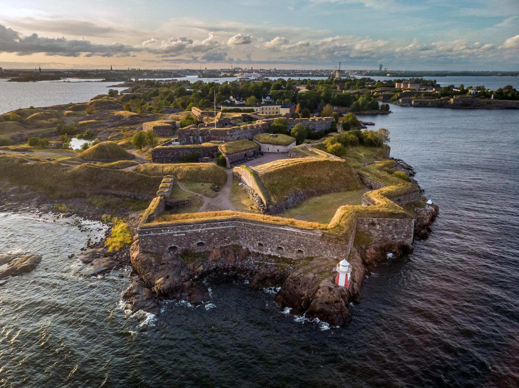 Интересные места в Хельсинки - Крепость Свеаборг