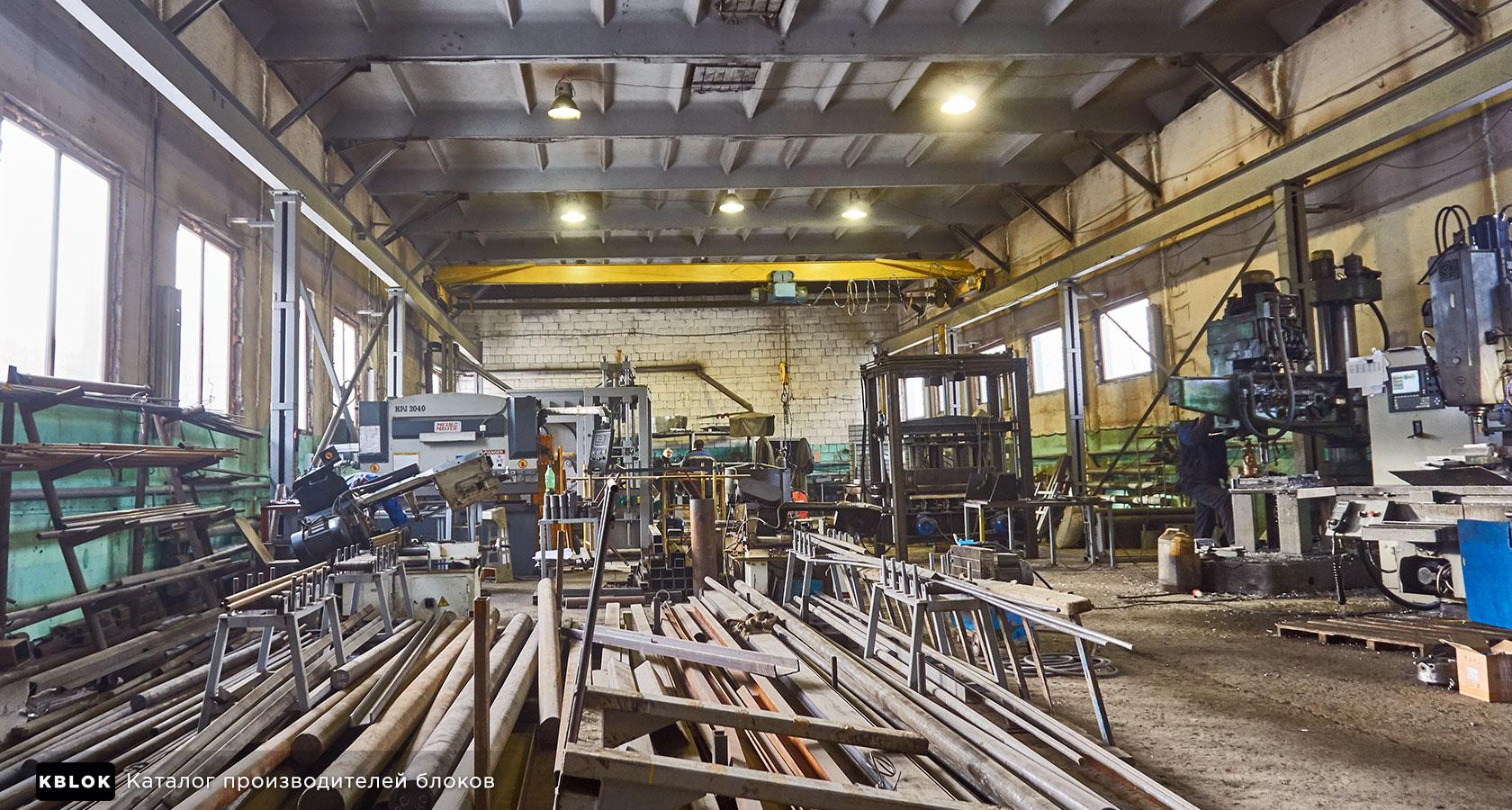 Производство вибропрессовального оборудования