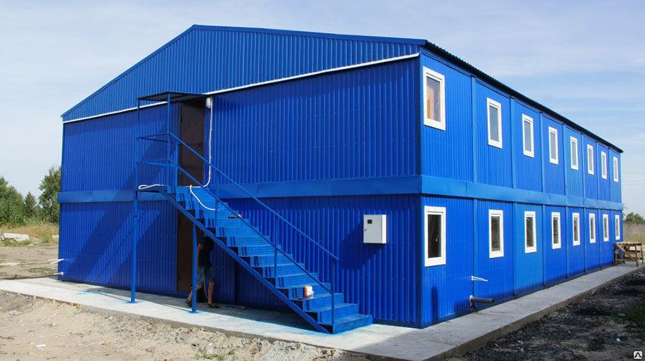 картинка модульного здания полуострове