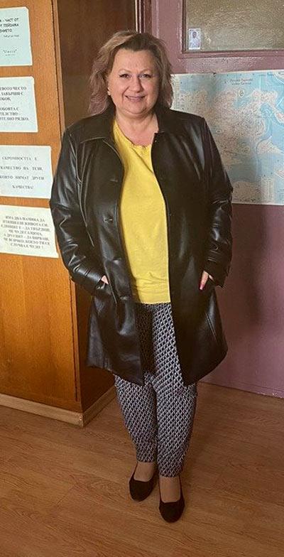 Дамски шлифери големи размери (макси мода) от еко кожа.