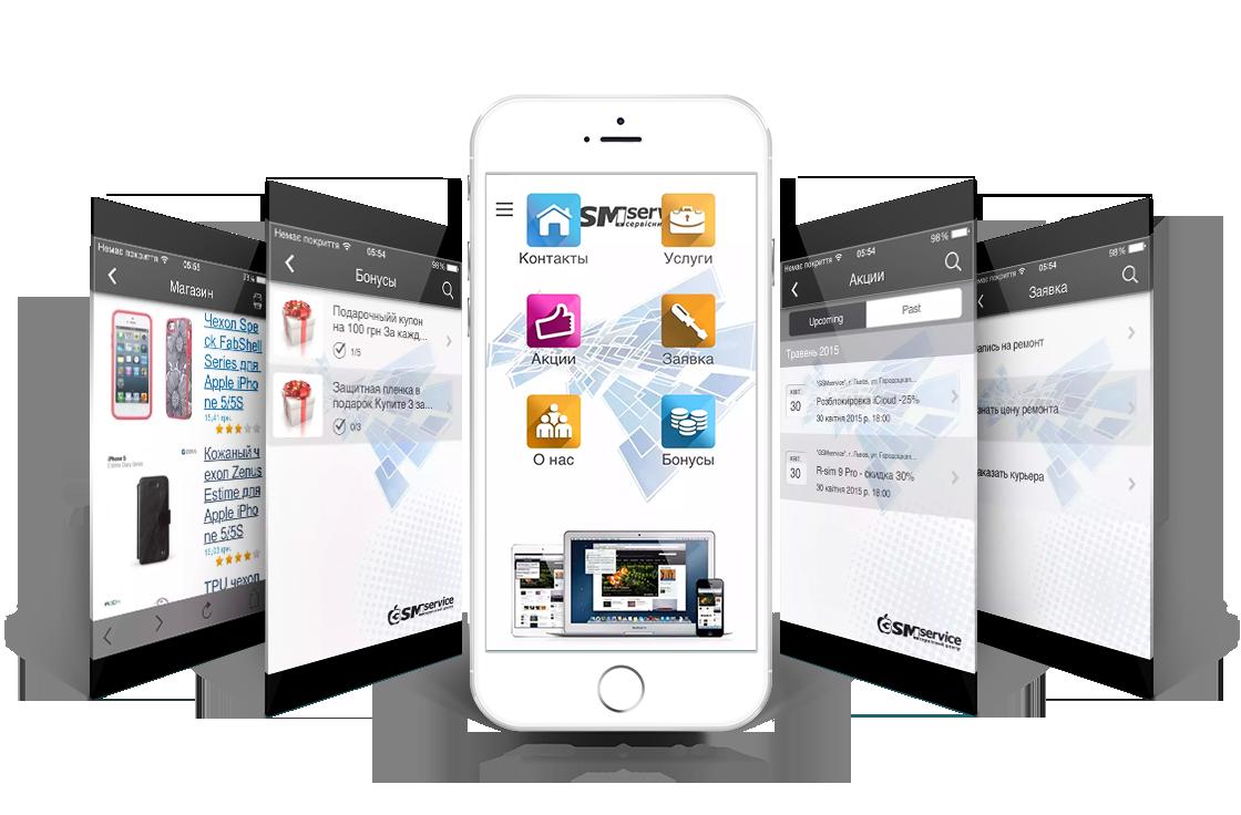Приложения для создания сайтов на ios компания дешели официальный сайт