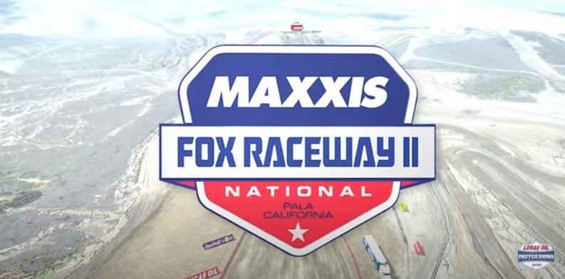 АМА Мотокросс 2021: Анимация трека Fox Raceway