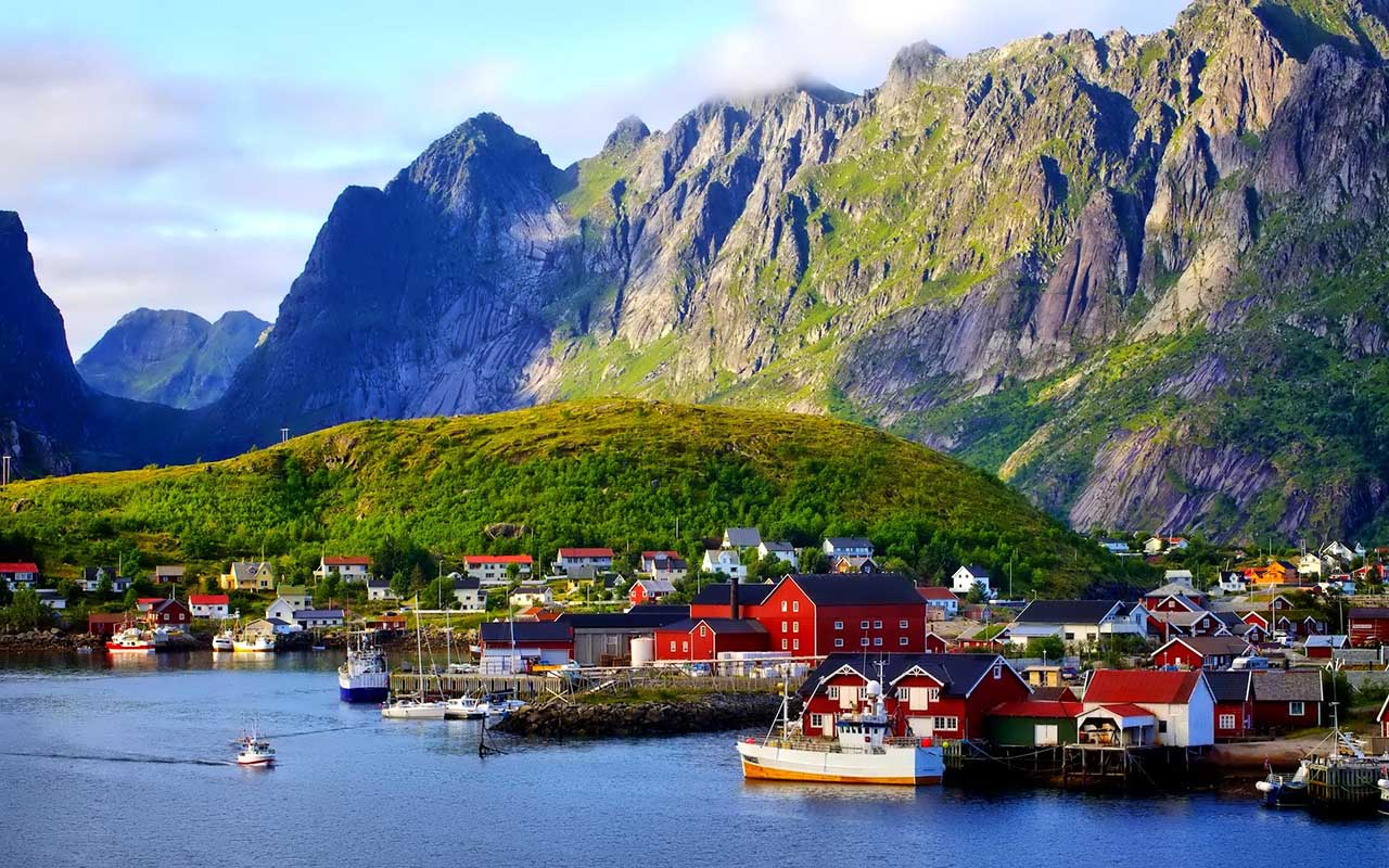 Картинки норвегия фьорды, заходите