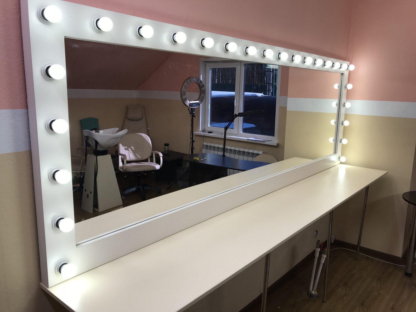 Зеркало для макияжа Magic Makeup Mirror с подсветкой