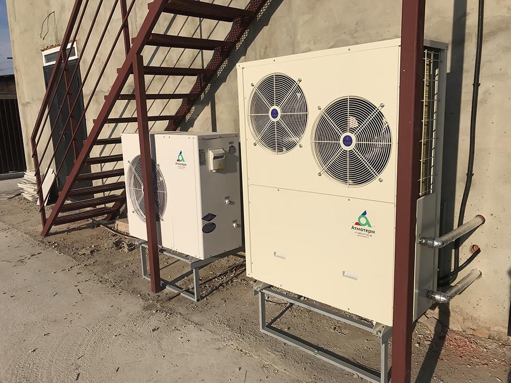 Тепловой насос воздух-вода для отопления дома