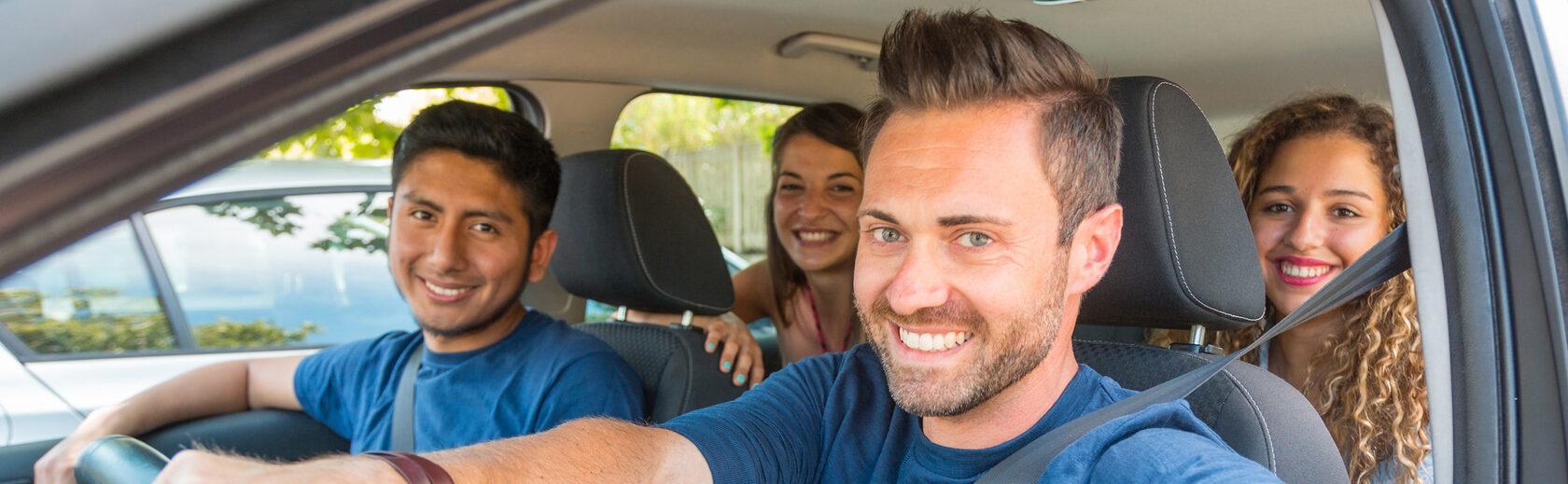 водитель и пассажиры