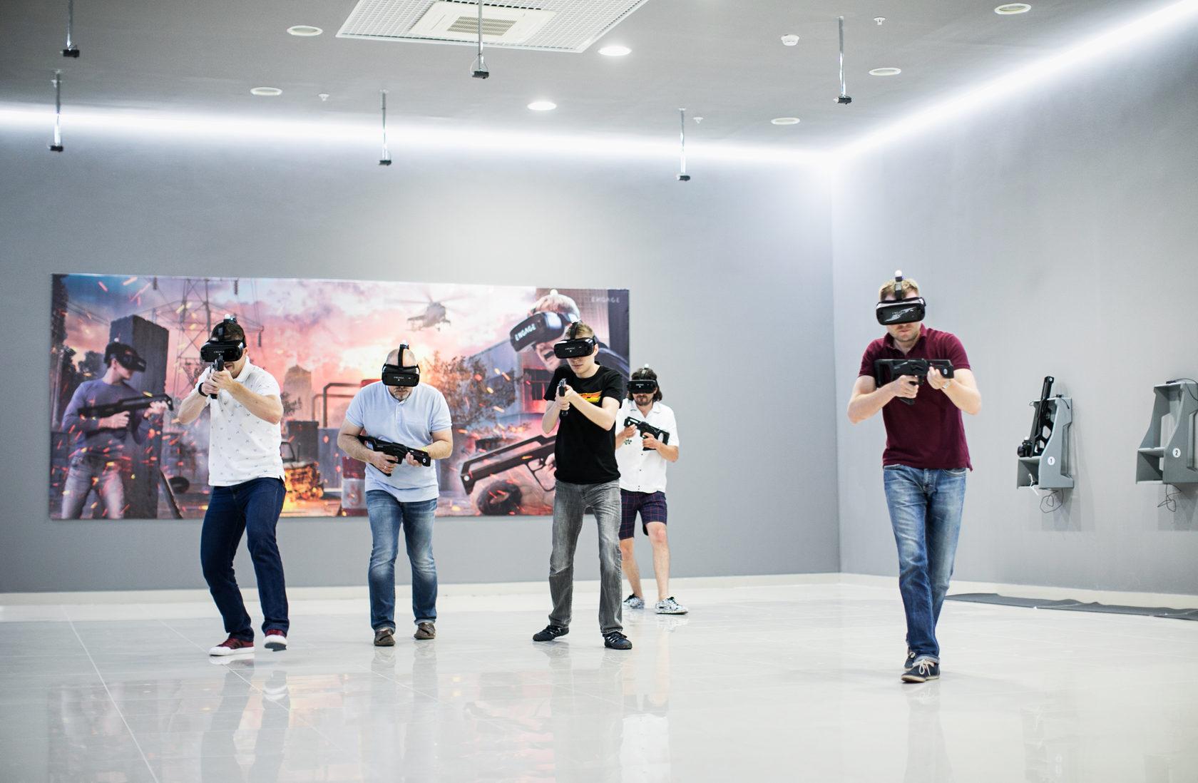 Где можно поиграть в VR-игры?