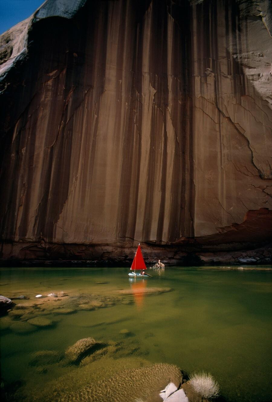 Водохранилище Пауэлл в штате Юта, 1967. Фотограф Уолтер Мейерс Эдвардс