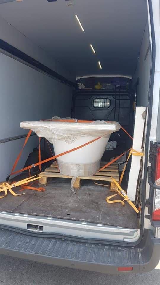 зображення перевезення ванни