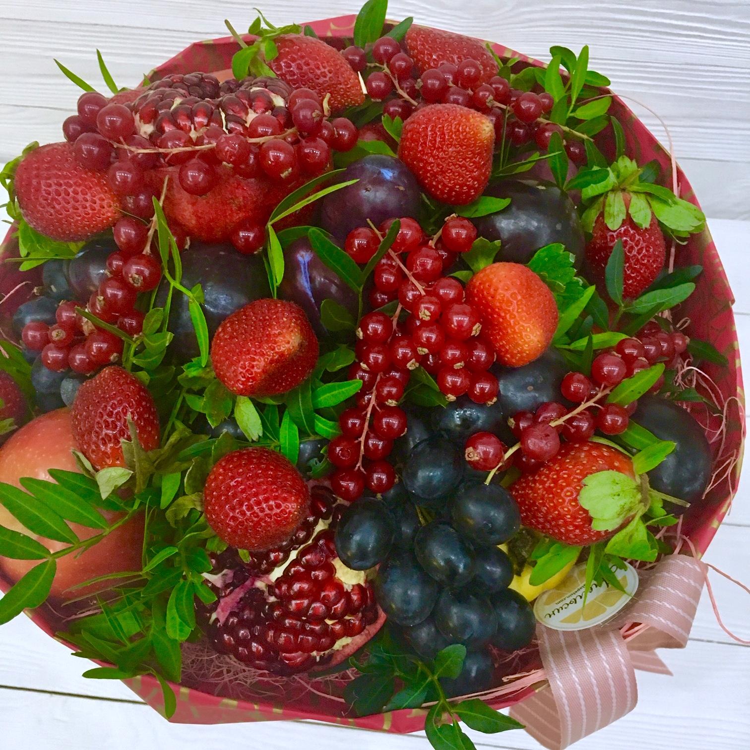 желание букет из ягод фото шоколадный