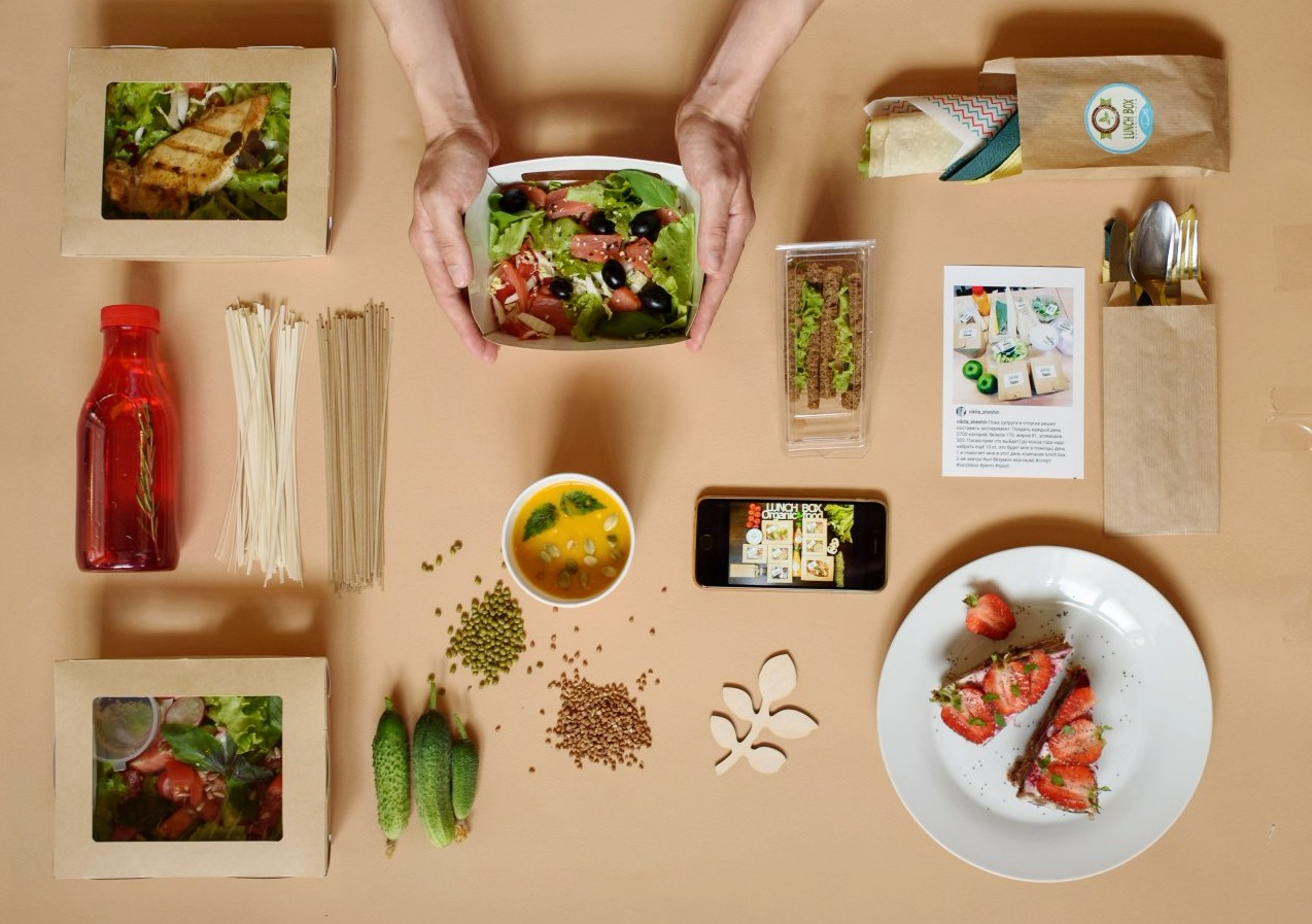 Lunch box пермь, доставка программ питания и кафе