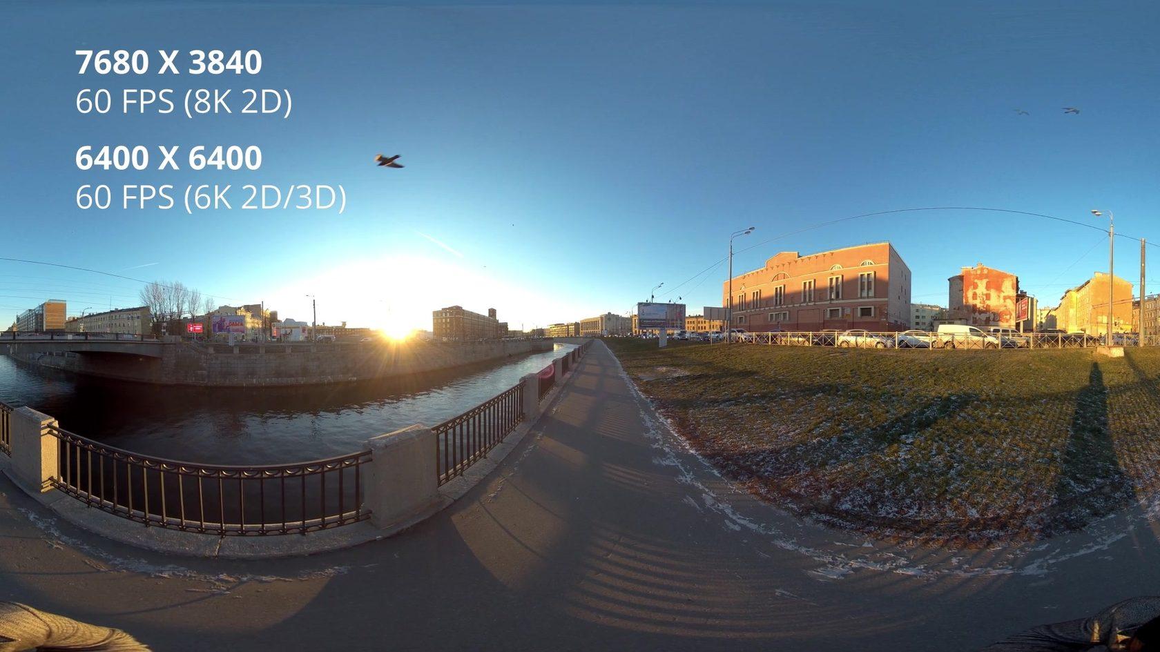 Insta360 pro 2 обзор 1