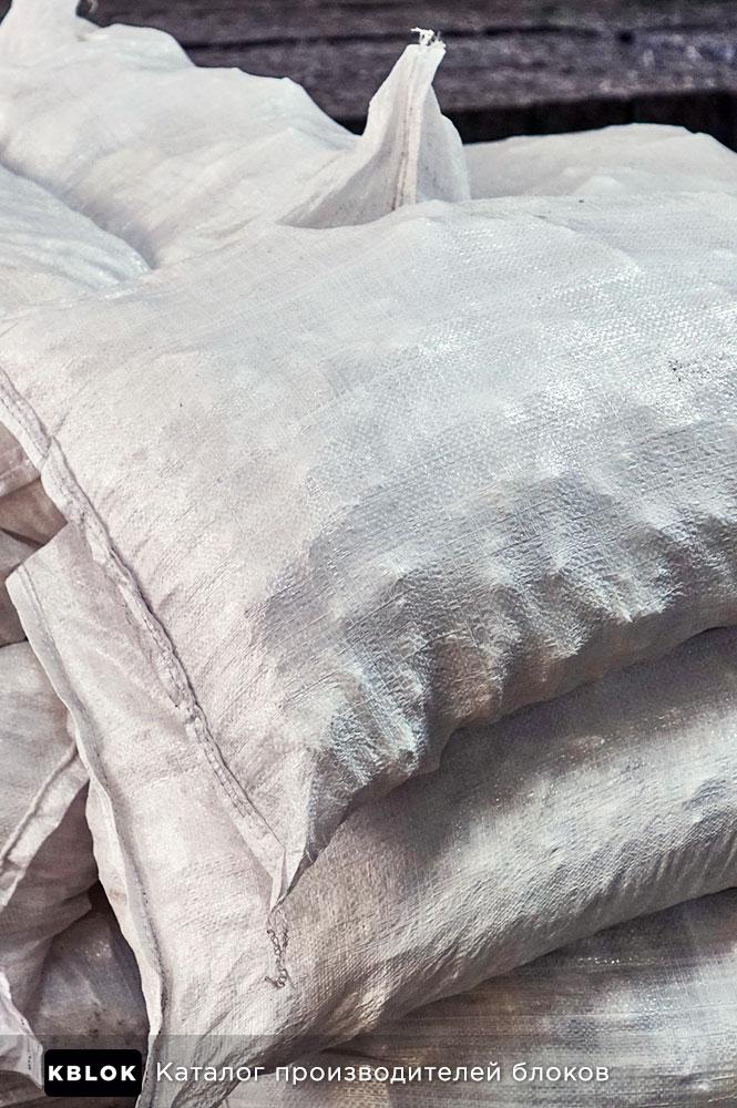 мешки с сульфатом алюминия