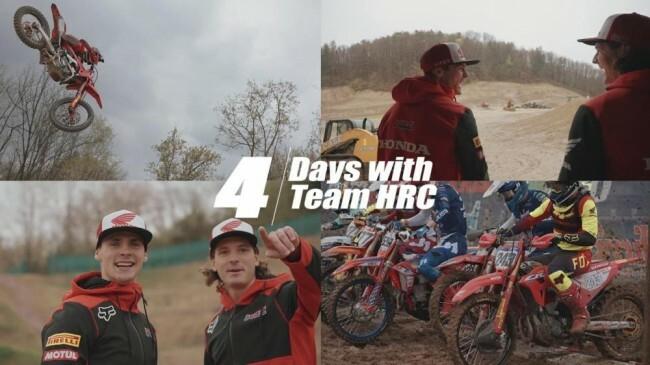 Видео: 4 дня с командой HRC MXGP