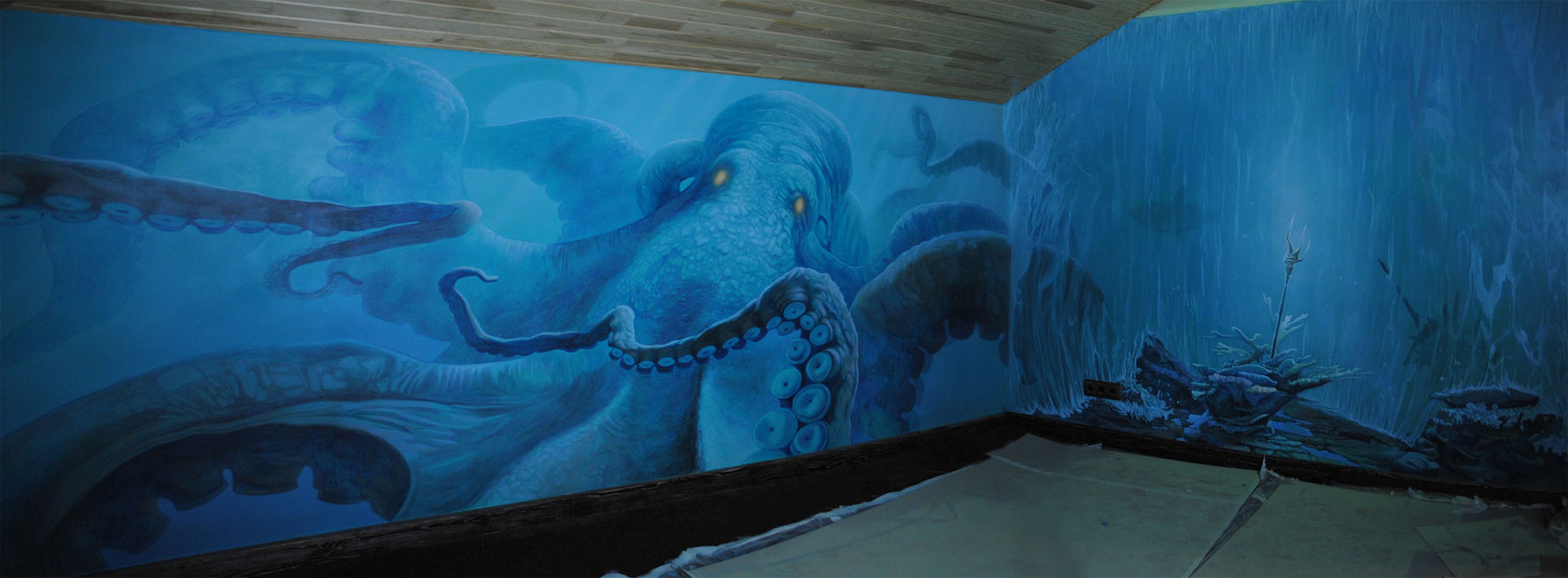 роспись стен, роспись стен в квартире, роспись стен на заказ