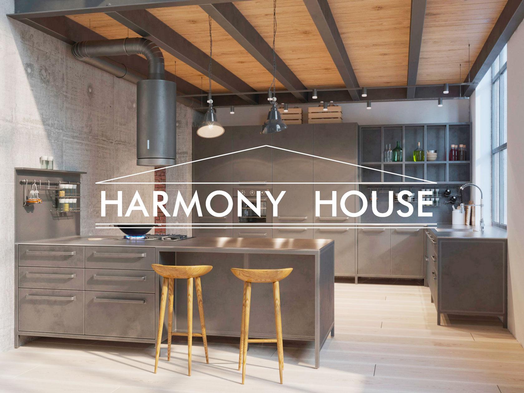 Локальный бренд кухонь HARMONY HOUSE