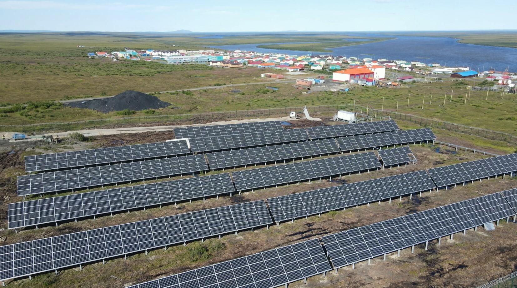В Арктической зоне построены первые гибридные энергоустановки