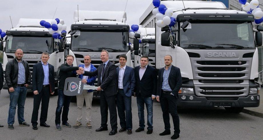 Выбор Vezu пал на тягачи Scania R400 LA 4x2 HNA с 13-литровым дизельным двигателем мощностью 400 л. с. (фото: «Скания–Русь»)