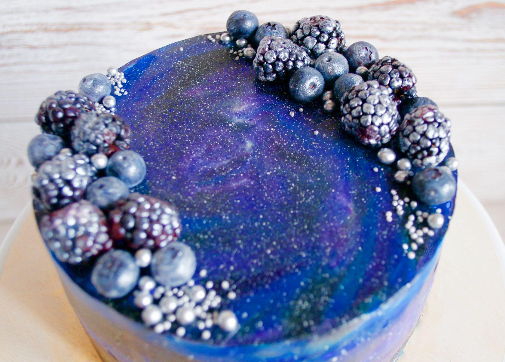 торт космос фото