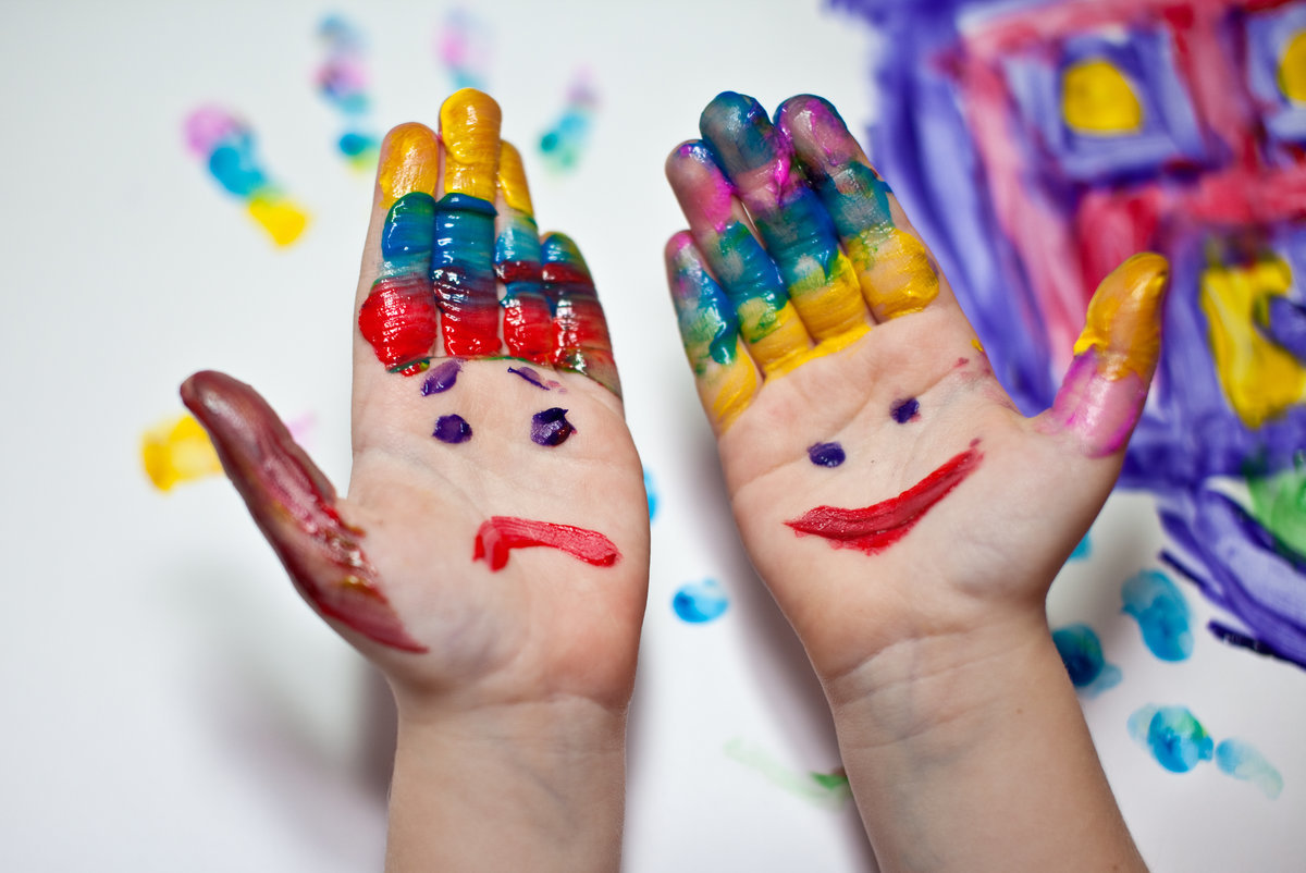 руки в краске картинки эти качества награждали
