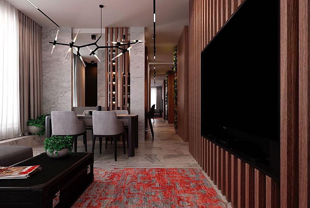 Проект: Interior Equilibrium<br />Компанія: Angelina Manko Design