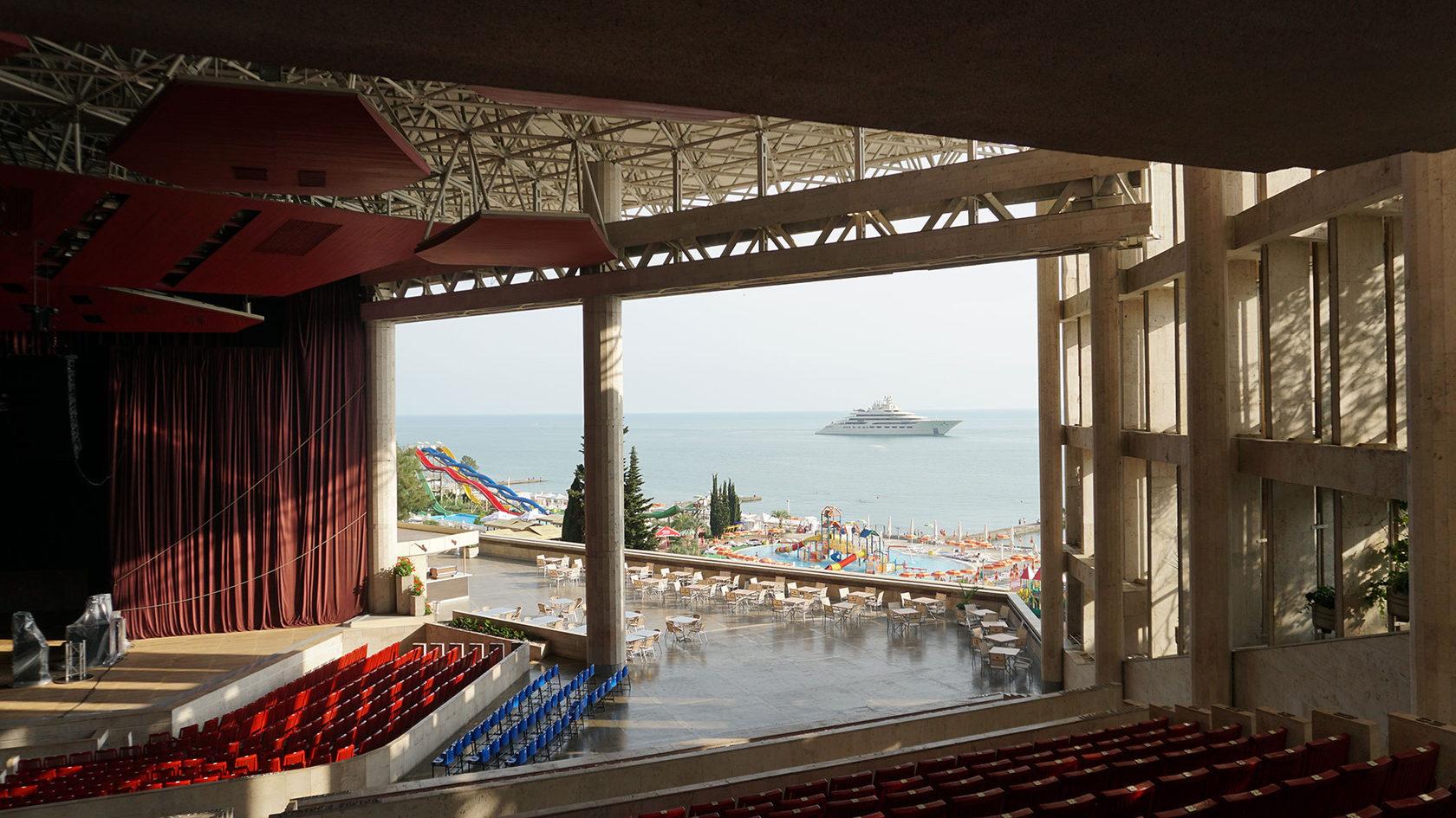 фестивальный концертный зал сочи фото зала рассорить