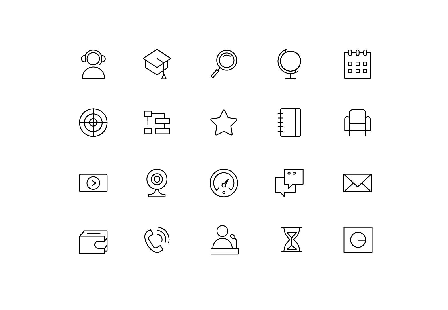 "Icons ""Webinar"""
