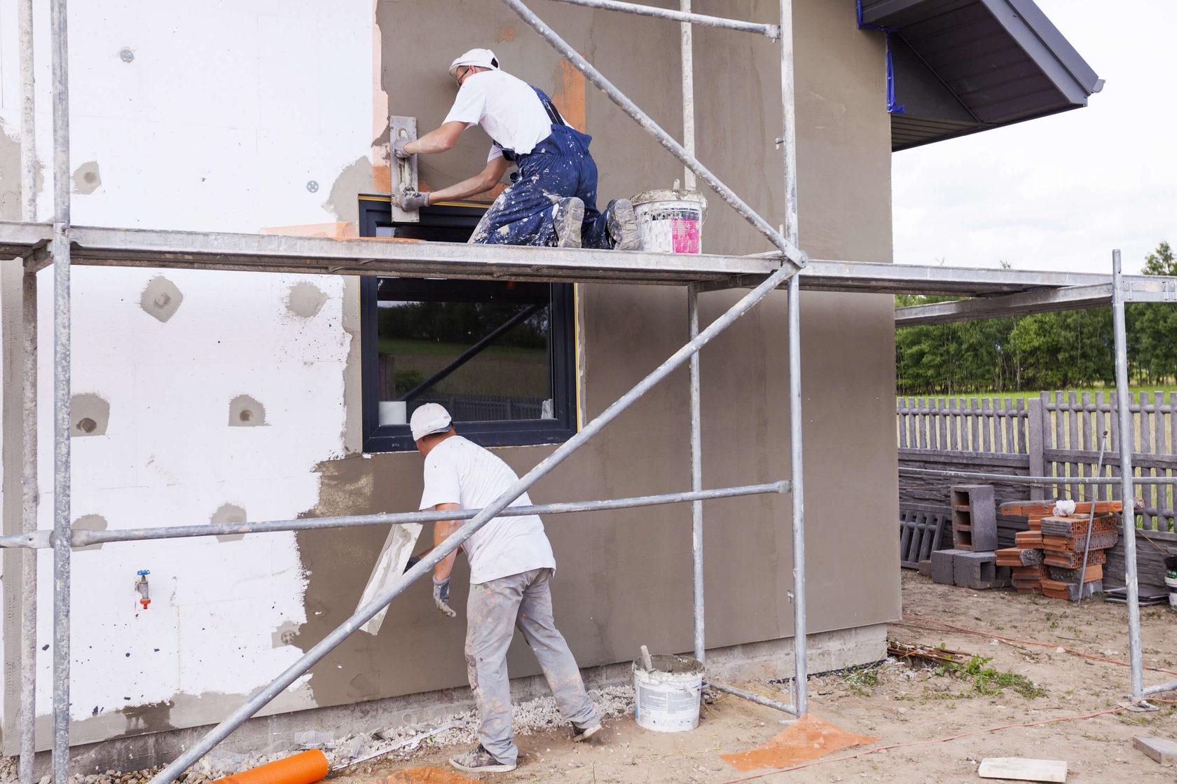 Zateplení fasády cena za práci