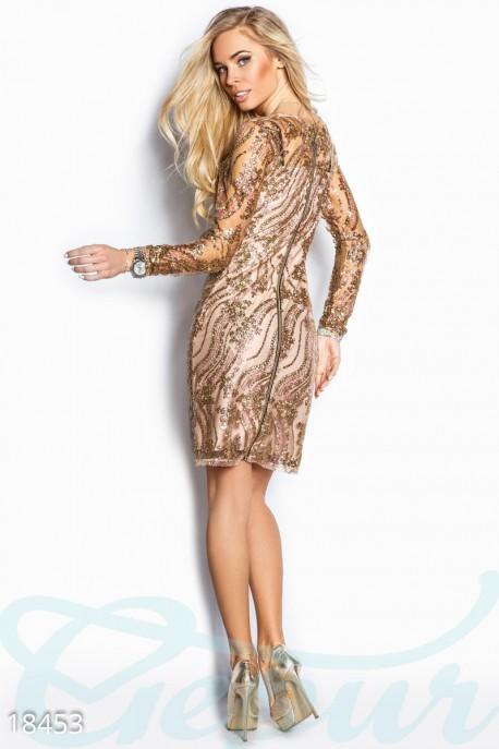 c6734efbd3c Восхитительное платье с блестками отличный вариант для новогодней вечеринки