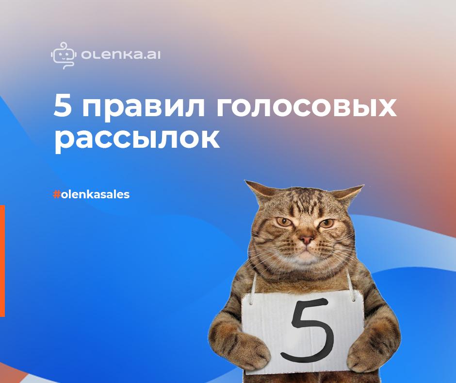 5 правил голосовых рассылок 