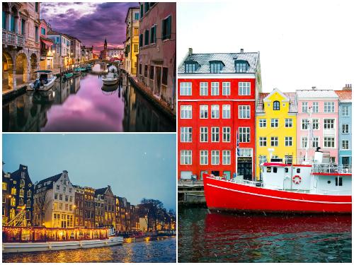 Копенгаген, Амстердам, Венеция на Новый год