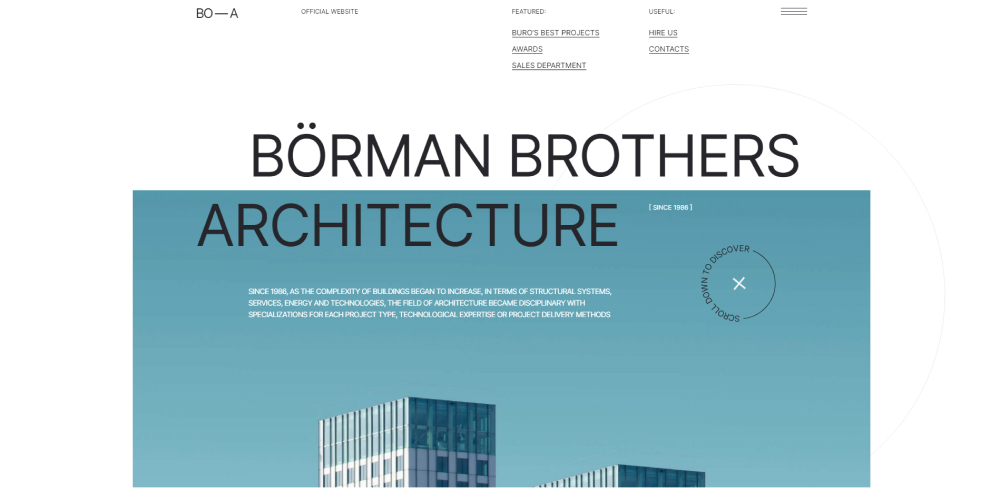 Новый шаблон для тильды Architecture