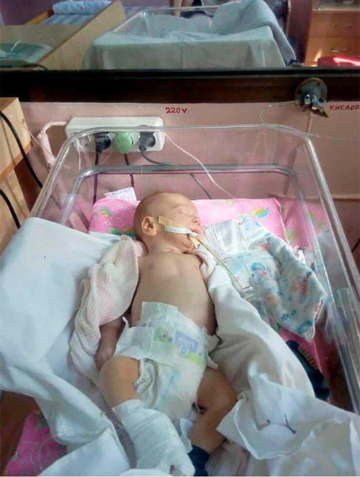 Младенец в Херсоне - фото