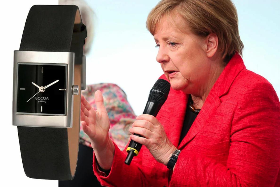 Часы Меркель