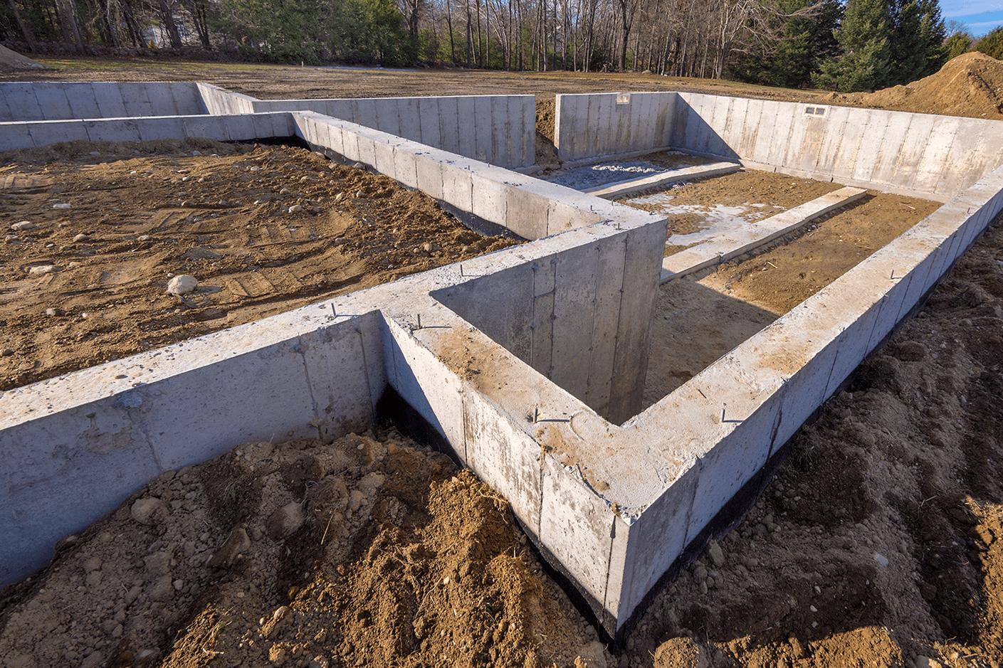 залить фундамент под дом в беларуси цена