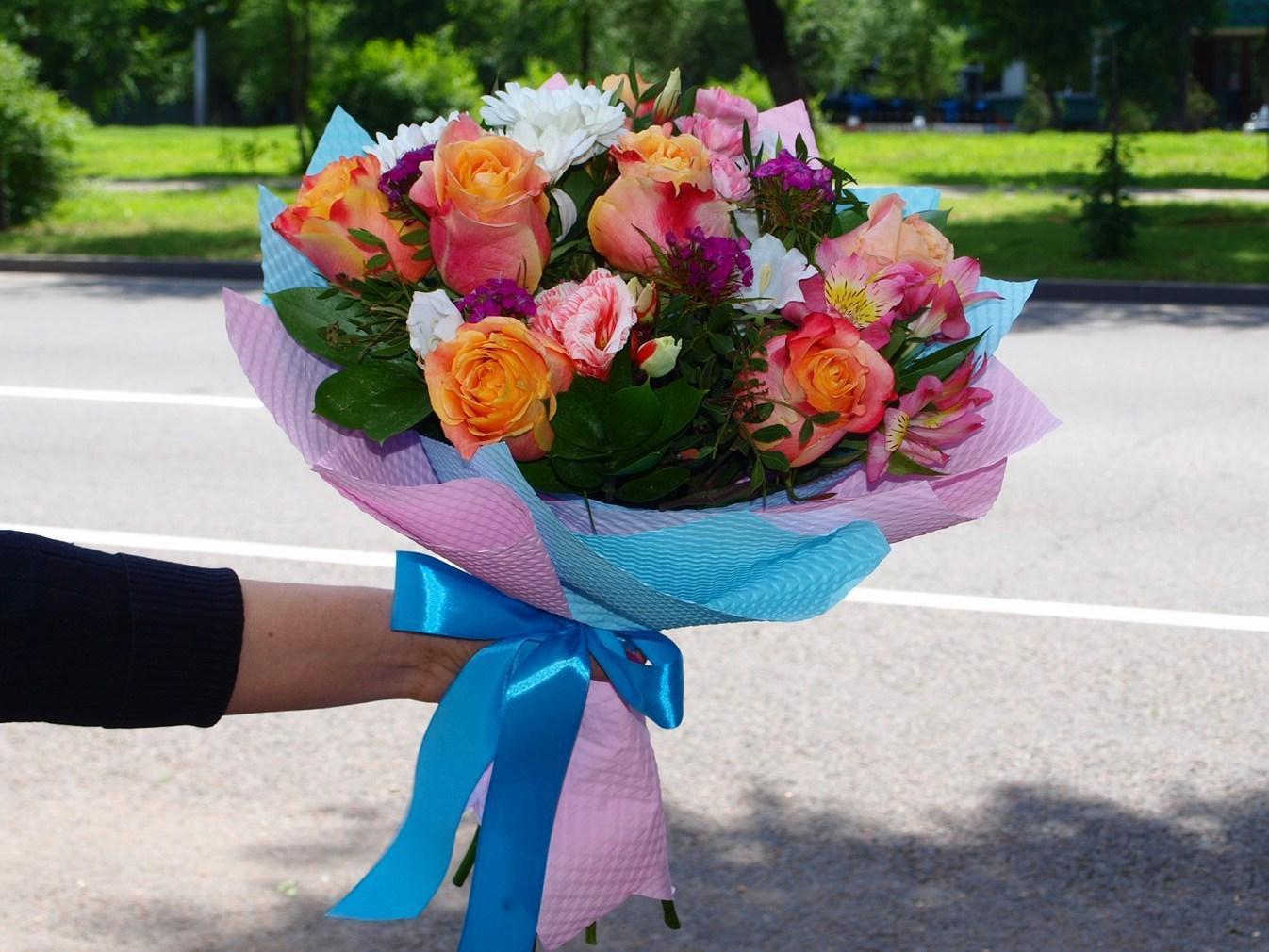 Букеты из алимов алматы, цветов
