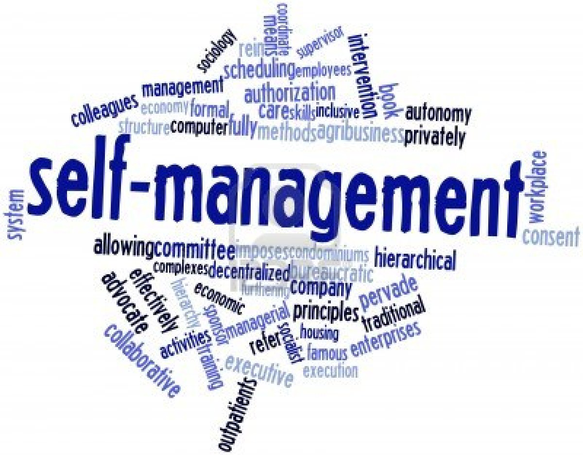 self management skills While there are many competencies that enable effective self-management (excellent communication skills, solid teamwork, good judgment), there are many other, less obvious competencies that impact one's ability to navigate and perform at a high level in a self-managed ecosystem.